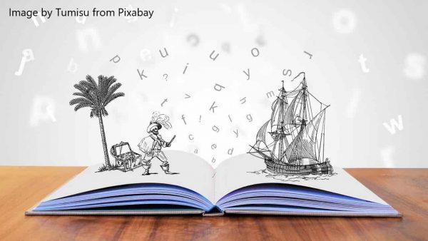 pirate story book