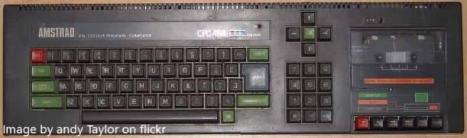 Amstrad keyboard